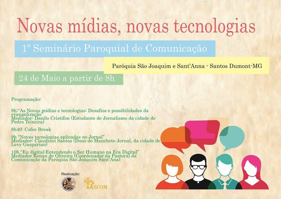 24-05 Seminário Paroquial de Comunicação