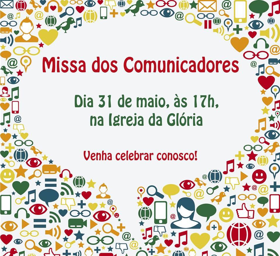 Missa dos comunicadores - Igreja da Glória