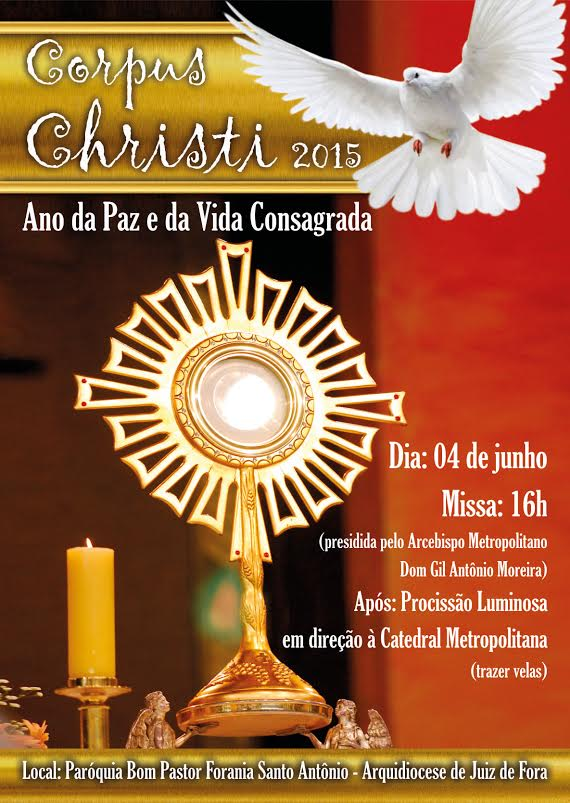Cartaz Corpus Christi