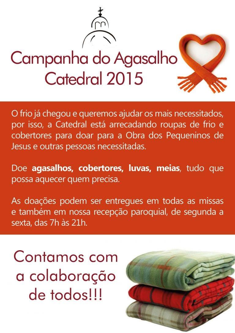 campanha do agasalho Catedral