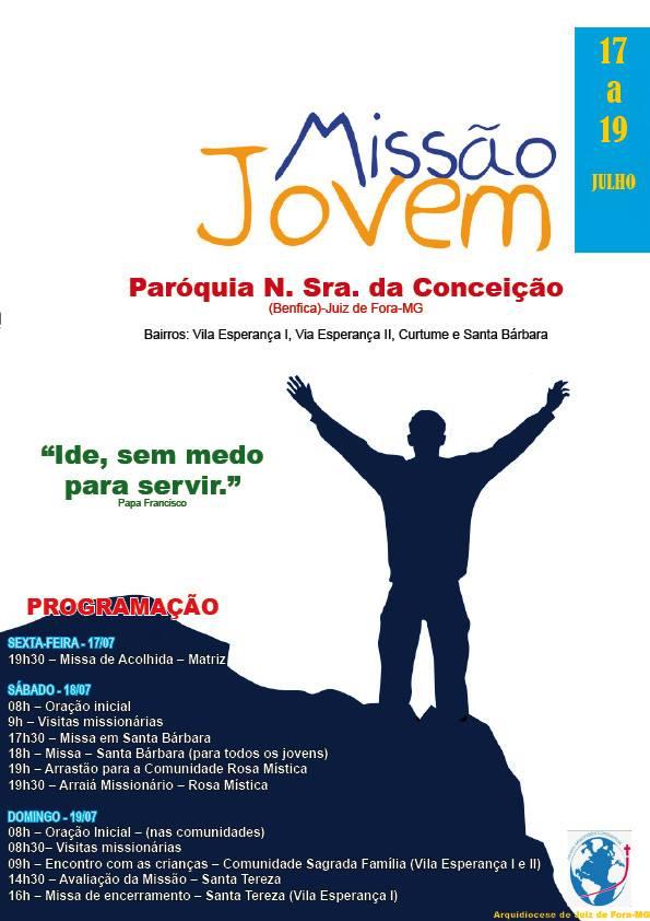 Cartaz Missao em Benfica