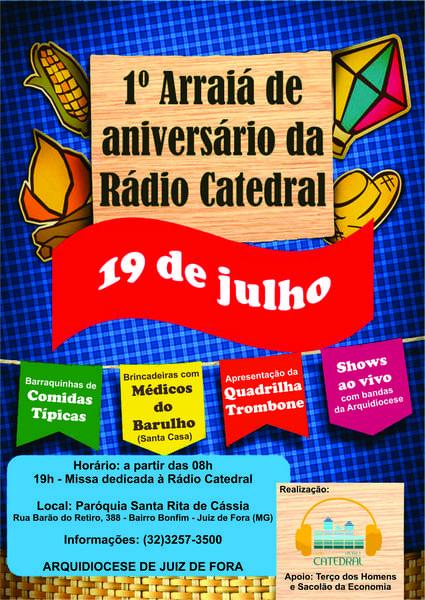 cartaz festa julina