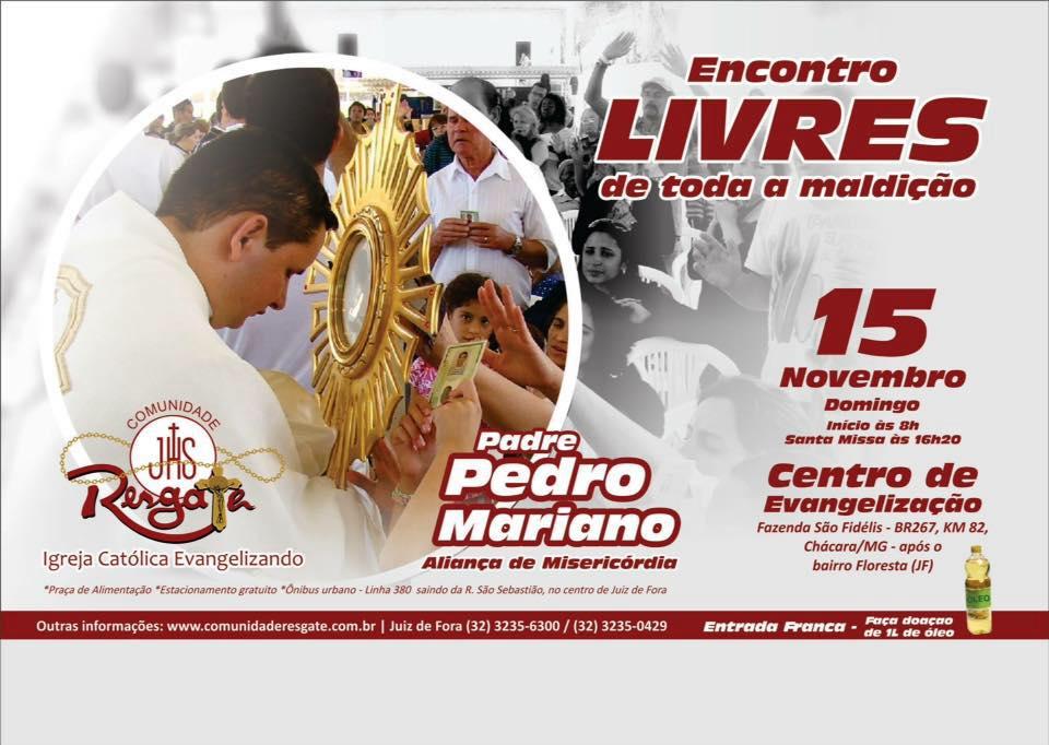 15 09 Cartaz Padre Pedro Mariano