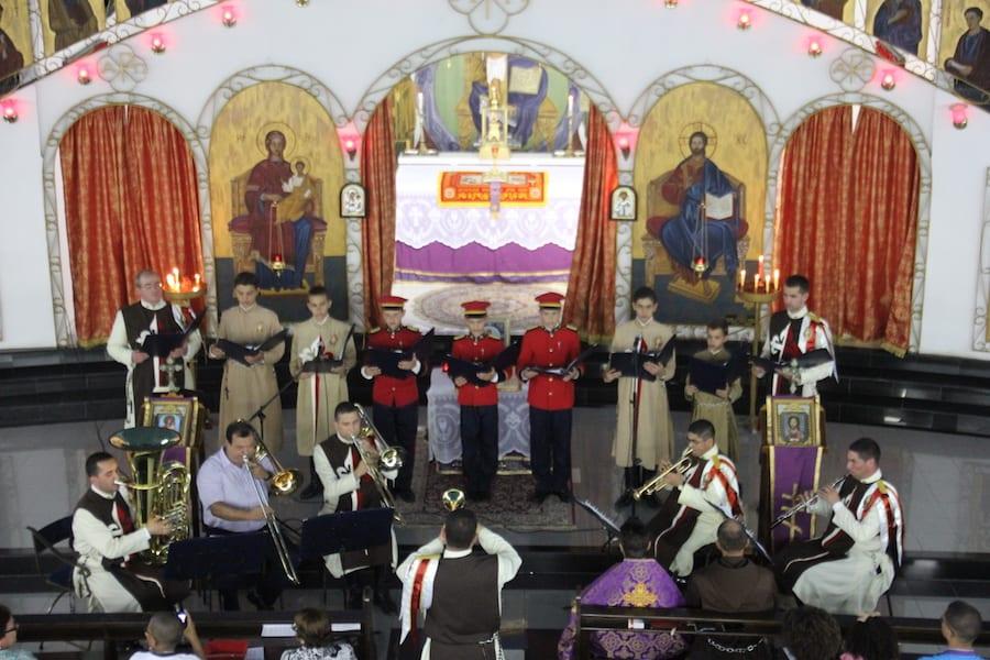 Cantata Igreja São Jorge Melquita12