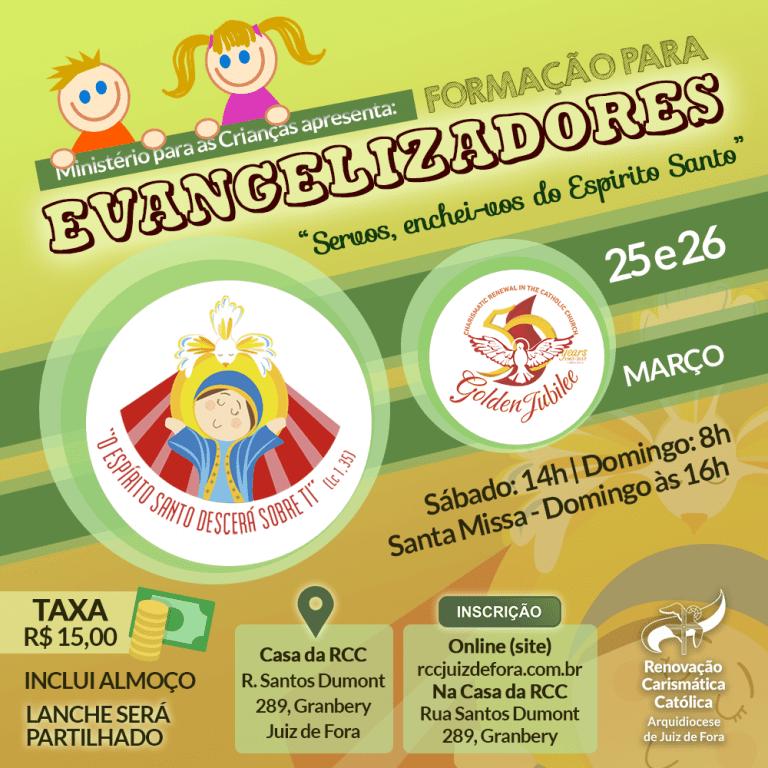 25 03 Encontro Evangelizadores Crianças