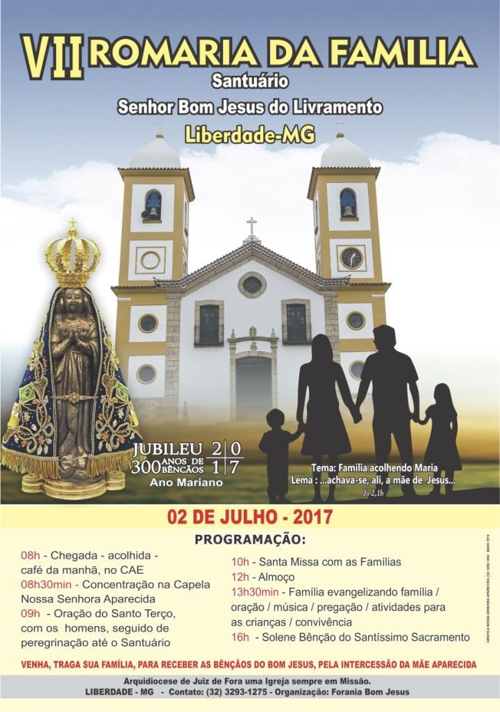 ROMARIA DA FAMILIA 2017