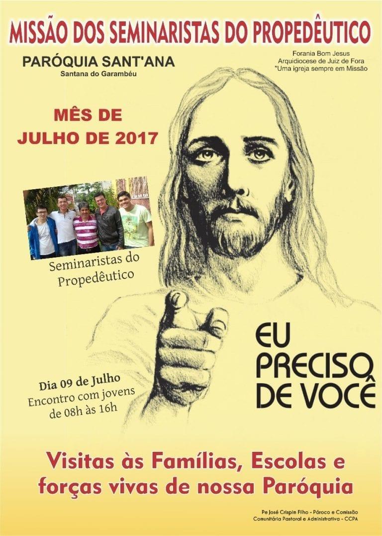 Missão seminaristas