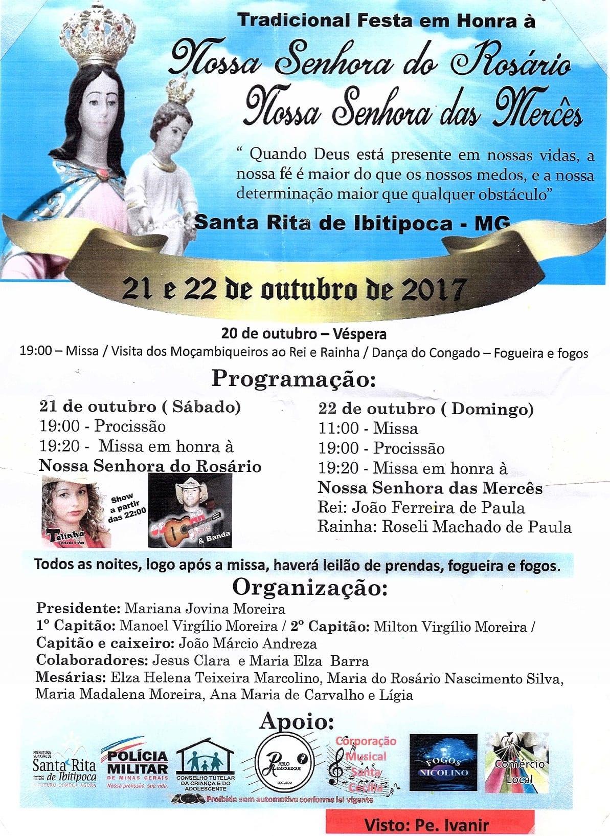 Festa Nª Srª Rosário 2017