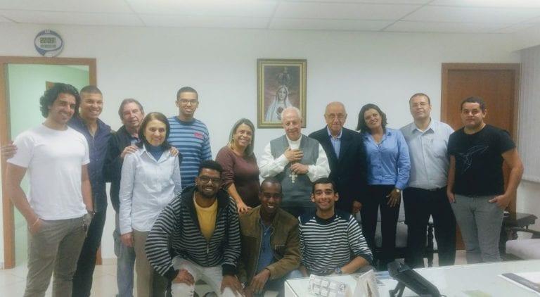 Reunião projeto Haiti