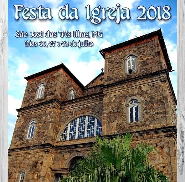 Cartaz Igreja São José das 3 Ilhas 2018 site