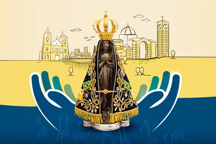 Nossa Senhora Aparecida Padroeira Do Brasil: Padroeira Do Brasil: Nossa Senhora Aparecida é Celebrada