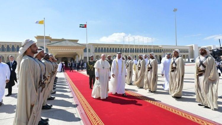 Papa – despedida de Abu Dhabi