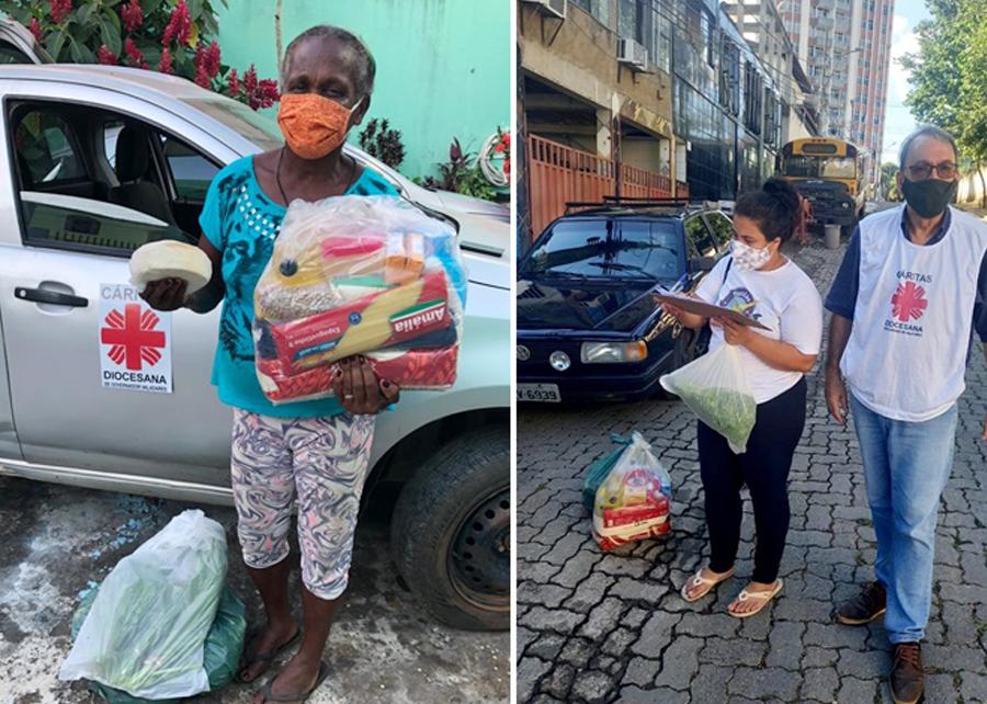 """Cáritas promove ações de arrecadação e doação em diversos locais do estado durante a Semana de Mobilização """"É Tempo de Cuidar"""""""