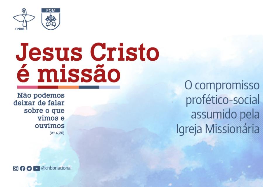 """Live Missionária desta terça-feira (26), às 19h, vai refletir """"O Compromisso Profético-Social assumido pela Igreja Missionária"""""""